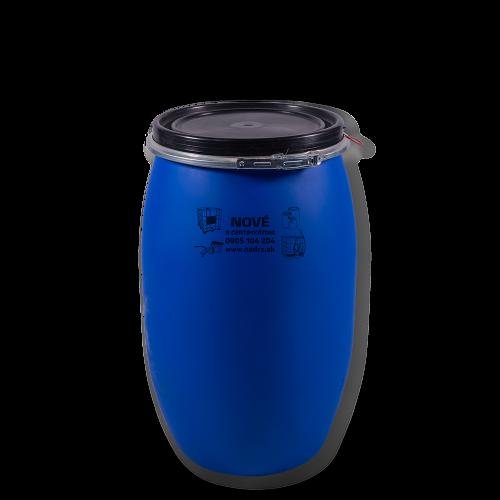 Uzatváratelný plastový sud 120 litrov