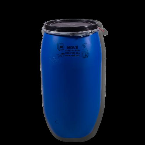 Uzatváratelný plastový sud 150 litrov